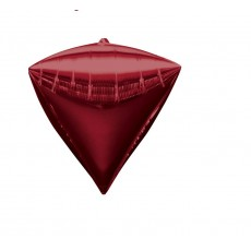 Diamondz Red UltraShape Shaped Balloon 38cm x 43cm