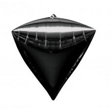 Black UltraShape Shaped Balloon