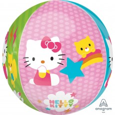 Orbz XL Hello Kitty Shaped Balloon 38cm x 40cm