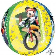 Orbz XL Mickey Mouse Shaped Balloon 38cm x 40cm