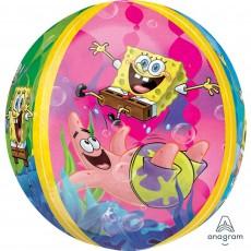 Orbz XL SpongeBob Squarepants Shaped Balloon 38cm x 40cm