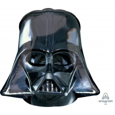 Star Wars Party Decorations - Super Shaped Balloon Darth Vader Helmet