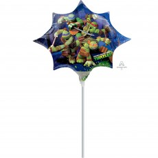 Teenage Mutant Ninja Turtles Mini Shaped Balloon