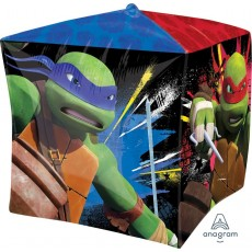 Cubez Teenage Mutant Ninja Turtles UltraShape Shaped Balloon 38cm x 38cm