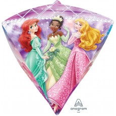 Diamondz Disney Princess UltraShape Shaped Balloon 38cm x 43cm