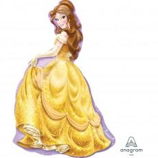 Disney Princess SuperShape XL Belle Shaped Balloon 60cm x 99cm