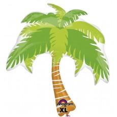 Hawaiian Party Decorations Summer Scene SuperShape Palm Tree Balloons