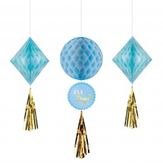 Baby Shower - General Honeycomb Hanging Decorations