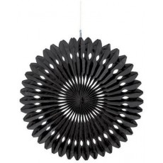 Black Fan Hanging Decoration