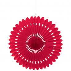 Red Apple Fan Hanging Decoration
