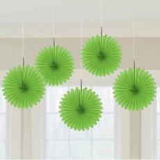 Green Kiwi Mini Fan Hanging Decorations