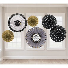 Graduation Paper Fan Hanging Decorations
