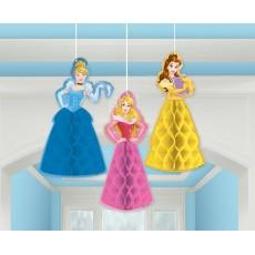 Disney Princess Dream Big Honeycomb Hanging Decorations