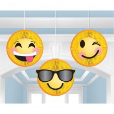 Emoji LOL Honeycomb Hanging Decorations