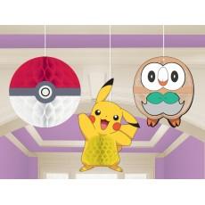 Pokemon Core Honeycomb Hanging Decorations