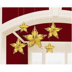 Glitz & Glam Party Decorations - Hanging Decorations Stars
