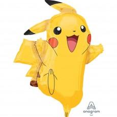 Pokemon SuperShape XL Pikachu Shaped Balloon