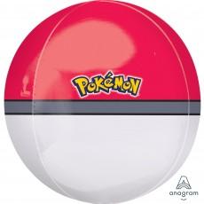 Pokemon Pokeball Shaped Balloon