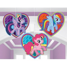 My Little Pony Friendship Honeycomb Hanging Decorations