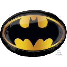 Batman Emblem SuperShape XL Shaped Balloon 68cm x 48cm
