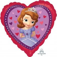 Sofia The First Standard HX Love Shaped Balloon