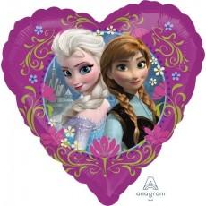 Heart Disney Frozen Standard HX Love Shaped Balloon 45cm