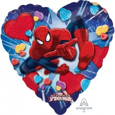 Spider-Man Standard HX Ultimate  Love Shaped Balloon