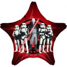 Star Wars Party Decorations - Star Shaped Balloon Jumbo HX Rebels