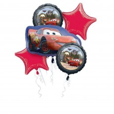 Disney Cars Bouquet Foil Balloons