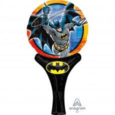 Batman CI: Inflate-A-Fun Shaped Balloon 15cm x 30cm