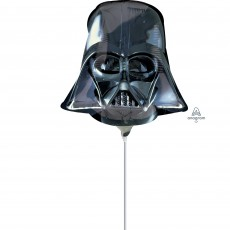 Star Wars Mini Darth Vader Helmet Shaped Balloon