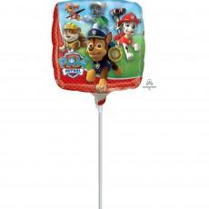 Square Paw Patrol Foil Balloon 22cm