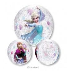 Orbz Clear Disney Frozen Shaped Balloon 38cm x 40cm