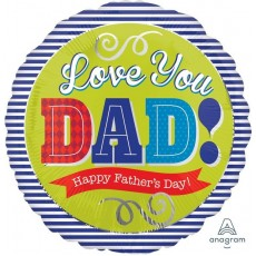 Father's Day Standard HX Foil Balloon