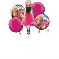 Barbie Sparkle Bouquet Foil Balloons