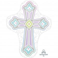 First Communion SuperShape XL Shaped Balloon