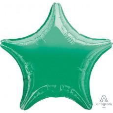 Green Metallic Standard XL Shaped Balloon