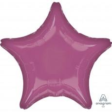 Lavender Party Decorations - Shaped Balloon Metallic Lavender 45cm