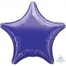 Purple Metallic Standard XL Shaped Balloon