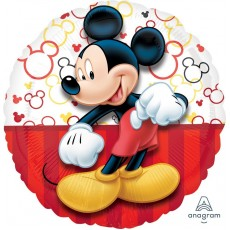 Mickey Mouse Portrait Standard HX Foil Balloon
