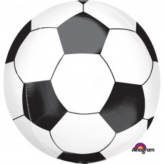 Orbz XL Soccer Ball Shaped Balloon 38cm x 40cm
