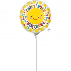 Dots & Stripes Sunshine & Dots Foil Balloon