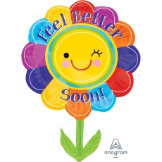 Get Well Party Decorations - Shaped Balloon SuperShape XL Flower