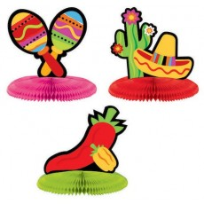 Caliente Fiesta Honeycomb Mini Centrepieces