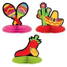 Fiesta Mini Honeycomb Centrepieces
