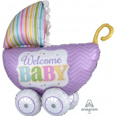Baby Shower - General Multi-Balloon Brights Shaped Balloon