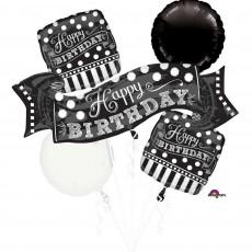 Chalkboard Bouquet Foil Balloons