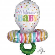 Baby Shower - General Multi-Balloon XL Pacifier Shaped Balloon