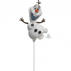 Frozen Party Decorations - White Disney Frozen Olaf Shaped Balloon