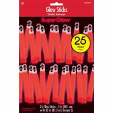 Red Glow Stick Mega Pack Misc Accessories